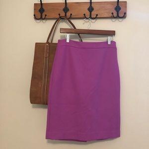 J. Crew Skirts - J. Crew classic wool pencil skirt lilac